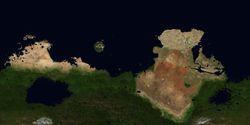 复原的火星地表景观