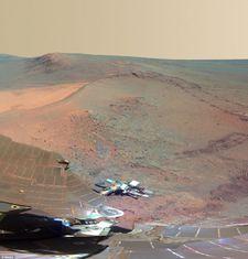 NASA公布的火星...