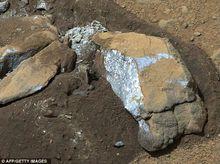 火星表面石头