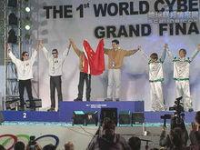 WCG2001 中国选手获得星际争霸2V2世界冠军
