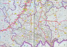 红河哈尼族彝族自治州地图